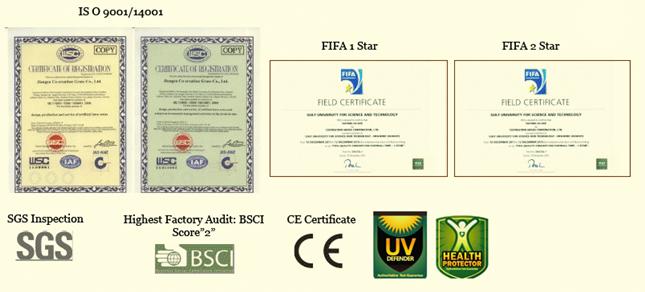 FIFA certificates