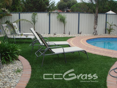 backyard artificial grass
