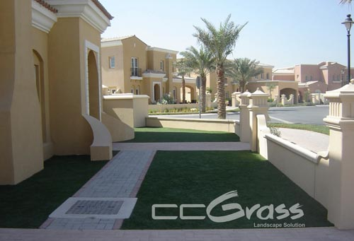 landscaping artificial green turf