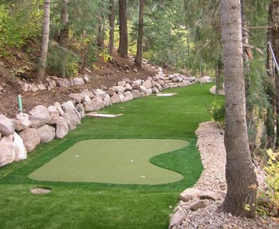 golf artificial grass outdoor