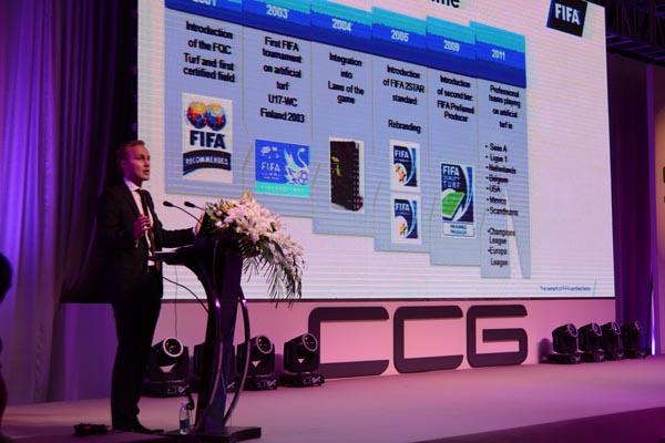 speech on CCGrass developing